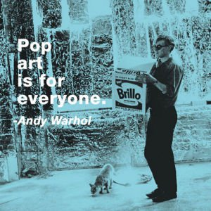 pop art is for everyone